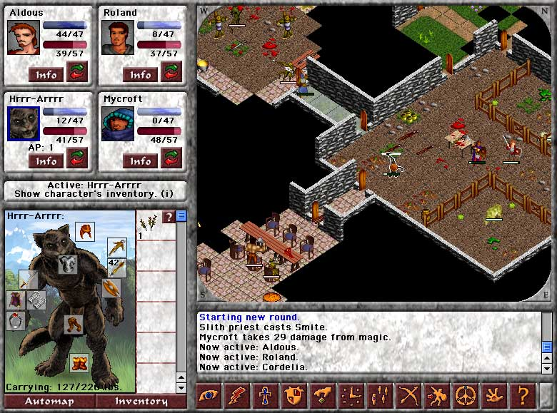 Click to view Blades of Avernum 1.0.1 screenshot
